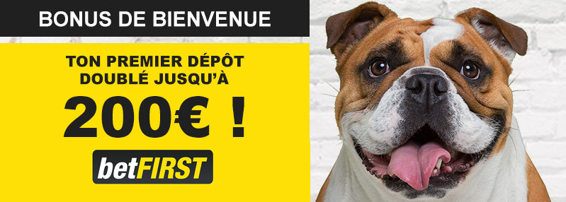 betfirst be paris sportif bonus
