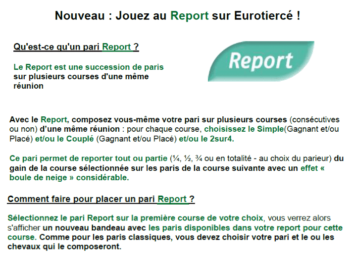 eurotierce be nouveau le paris report